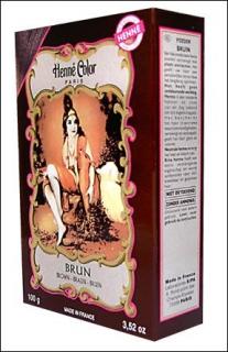 Henna Pulver, Henne Color, Braun (Brun), 100g