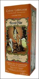 Henne Color, Henna Tönungscreme, Kupferrot (Cuivre), 90 ml