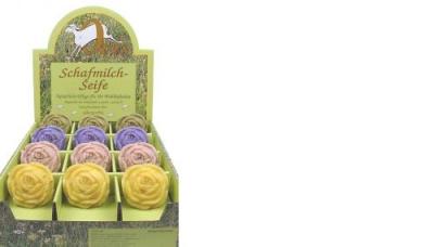 Seife Schafsmilchseife Rose ohne Karton