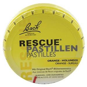 Bach Original Rescue Pastillen Orange-Holunder, 50g