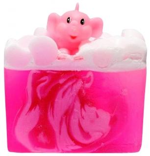 Fun Soap PINK ELEPHANT mit Litsea Cubeba und Mandarine, 100 g