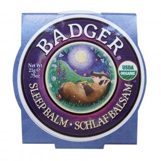 Badger Sleep Balm – Nacht Balsam, Blechdose 21 g