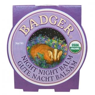 Badger Night Balm – Süße Träume Balsam, Blechdose 21 g