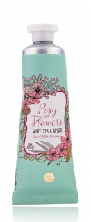 Hand- & Nagelcreme  Posy of Flowers 60ml - White Tea & Ginger