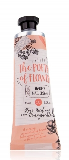 Hand- & Nagelcreme  The Poetry of Flowers 60ml- Rose & Heckenkirsche