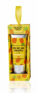 FRUITS Hand- & Nagelcreme  60 ml Tube in Geschenkbox:  Ananas