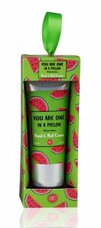 FRUITS Hand- & Nagelcreme 60 ml Tube in Geschenkbox: Melone