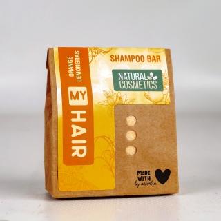 My Hair Festes Shampoo-Bar 60 g -Orange & Lemongras