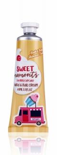 Sweet Moments Hand- und Nagelcreme mit Verkaufswagen-Motiv - Gelb