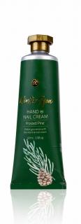 Winter Spa Hand- & Nagelcreme in 60 ml Tube dunkelgrün …