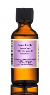 Thuja Öl, 100% ätherisches Öl, 10 ml