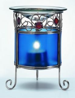 Duftlampe Rondo, blau