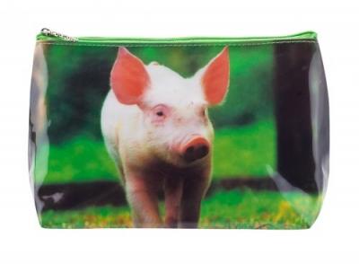 Tigapaw ® Waschtasche, Schweinchen
