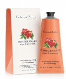 Crabtree & Evelyn - Pomegranate, Argan und Grapeseed Hand Therapy Handcreme, 100g