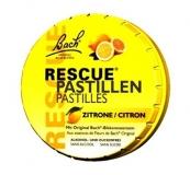 Bach Rescue Pastillen Zitrone, 50g