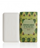 Crabtree & Evelyn - Avocado und Olive Oil Milled Soap gemahlene Seife, 158g
