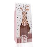 Best Wishes Bade & Duschgel 120 ml Flasche inkl.Geschenkbox mit Champagnerflaschen-Optik-Duft Frosted Berry