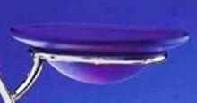 Ersatzscheibe, Glas, blau für Duftlampe