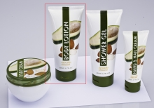 Bodylotion, Avocado & Mandel, Tube, à 200ml